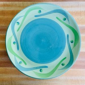 SLAH 4 Provence Swirly Salad Plates GUC